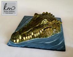 Crocodile Cake - Cake by Dolci Ritratti di Katia Malizia