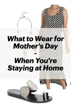 Your Mother's Day plans to go out for Sunday brunch may have gone out the window, but don't let that stop you from dressing up and feeling pretty on your special day. Here are 3 cute, casually chic outfits when you are having Mother's Day brunch in. Fashion Over 40, 50 Fashion, Holiday Fashion, Spring Fashion, Womens Fashion, Holiday Style, Mothers Day Brunch, Sunday Brunch, Cute Dresses