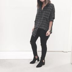 OAK+FORT: soft over-sized flannel