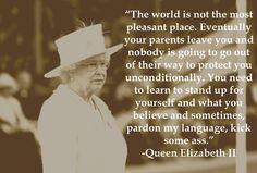 by Queen Elizabeth II