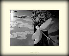 Lada Peskova https://flic.kr/p/9Ea7Kz | DRAGONFLY |  I work over creation of flowers of handwork. These are fragments of works which have been executed from English porcelain.    Я работаю над созданием цветов ручной работы. Это фрагменты работ, которые были выполнены из английского костяного фарфора.