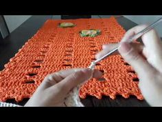 YouTube Crochet Chart, Table Covers, Crochet Designs, Doilies, Diy And Crafts, Youtube, Crochet Rugs, Crochet Bedspread, Crochet Throw Pattern