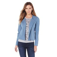 OFF AIR by Giuliana Zip Front Cardigan