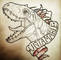 #jurrasicworld Indominus Rex tattoo