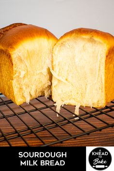 This bread is also known as Hokkaido Milk Bread. In Asia the general preference is for a very light, fluffy, pillowy bread, as opposed to the chewy baguettes of France or the sturdier, coarser grain of American sandwich breads. Sourdough Starter Discard Recipe, Sourdough Recipes, Sourdough Bread, Yeast Bread, Bread Machine Recipes, Bread Recipes, Fun Baking Recipes, Cooking Recipes, Hokkaido Milk Bread