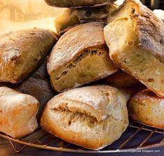 bread, chowder bread recipe, cibatta bread, easy bread at home, bread dough tar . Ciabatta, Bread Recipes, Cooking Recipes, Bread Dough Recipe, New Cake, Easy Bread, Chowder, Easy Meals, Food And Drink