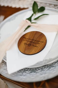 Coaster favor: http://www.stylemepretty.com/vault/search/images/Favors