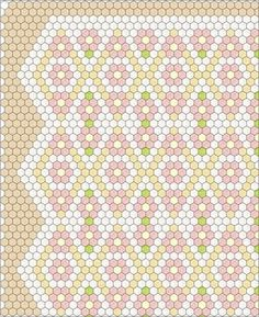 Hexagon Flowers                                                                                                                                                     More
