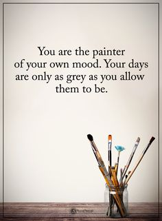 Paint a bright mood on a gray day