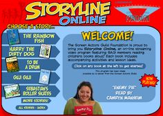 Storyline Online - FREE books read aloud! {Great for the days you lose your voice, but still want to do a read aloud!}