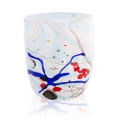 #Goto. #Artistic #Venetian #Glass. #Carnival #white collection.