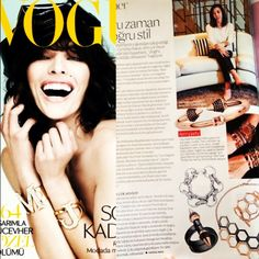 Love that I can say 'my vitafede bracelet is in Vogue right now'
