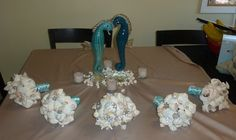 seashell bouquet how to