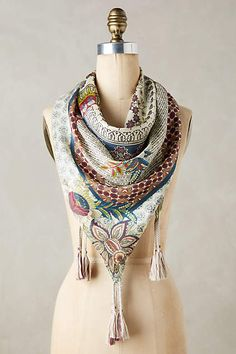 Wetheral Silk Scarf - anthropologie.com