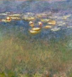 Monet - Water Lilies at St. Louis Art Museum
