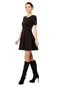 Φόρεμα μαύρο - Solo Capri | Stilago
