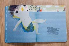 """Uma Onda Pequenina"" de Isabel Minhos Martins et Yara Kono, éditions Planeta Tangerina."