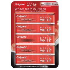 0f4023c34b4c Colgate Optic White Sparkling Mint Toothpaste 5ct   6.3oz Costco