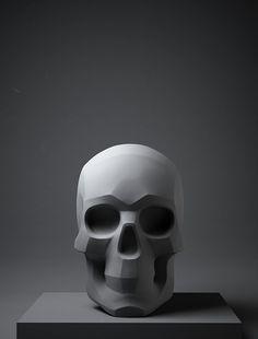 ArtStation - Planar Adult Male Skull ZTL, Daniel Crossland