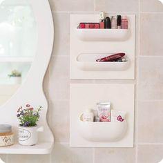 Multifunkcionális fürdőszobai tartó rendszer