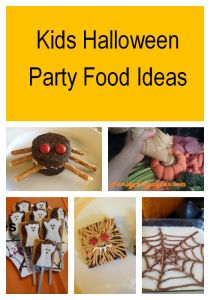 Are you looking for Kids Halloween Party Food Ideas? I have 13 EASY and totally FUN food ideas that are delicious! Ghost Halloween s'mores, Spider brownies and so much more! If you're looking for kids Halloween party ideas look no further!