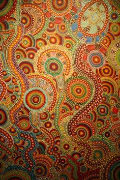 381734d4674beae9fefd751c5c1fe8a0[1] Chris Ofili. Inspiration from Aboriginal Art