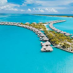 """Brides.com: Honeymoon Ideas for All Types. The Beach Bums: You want sand, sun, surf, and lots of drinks with little umbrellas.  St. Regis Resort, Bora Bora There are few experiences more idyllic than diving into the crystal-clear waters of French Polynesia from the terrace of your over-water bungalow. Add to that a private jacuzzi, an outdoor shower, and a """"butler"""" button, which will summon a staff member ready to accommodate any whim, and you've truly found paradise. Should you decide to…"""
