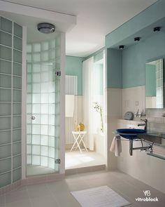 Lovely Vetrocemento Moderno   Cerca Con Google | Růžek | Pinterest | Glass Blocks,  Glass Brick And Furniture Ideas