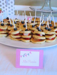 great idea for breakfast party
