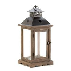 Shop for Large Rustic Wood Lantern. Get free shipping at Overstock.com - Your Online Home Decor Outlet Store! Get 5% in rewards with Club O! - 25569349