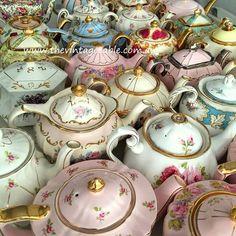 Authentic Vintage & Royal Albert Teapots $16 - Qty: 50 Plus
