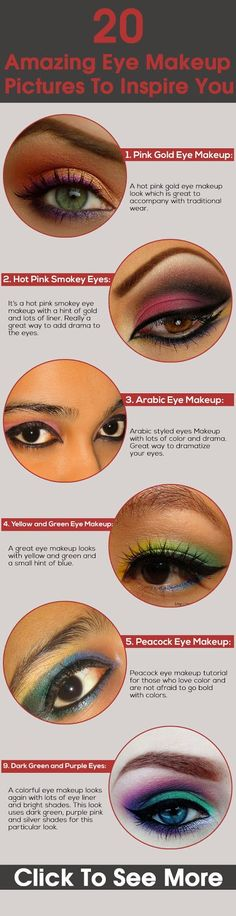 20 Amazing Eye Makeup Pictures To Inspire You | Medi Villas
