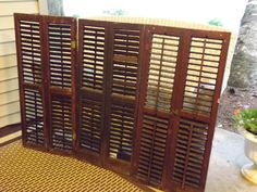 vintage shutters by TwoDovesCreations on Etsy, $145.00