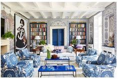 29 References Of Beach Home Interior Design Hall Wallpaper, Scenic Wallpaper, Wallpaper Ideas, Velvet Wallpaper, Luxury Wallpaper, Tree Wallpaper, Architectural Digest, Furniture Slipcovers, Home Furniture