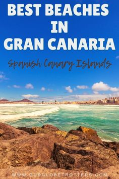 Enjoy the best white sand beaches that the Canary Islands have to offer | Best Beaches | Family Vacation Inspiration | Our Globetrotter Spanish Islands, Canary Islands, White Sand Beach, Travel Advice, Family Travel, Beaches, Europe, Vacation, Explore