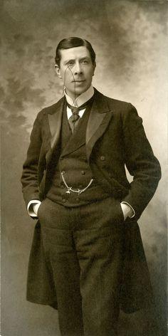 George Arliss, 1914, University of Washington Digital Collections