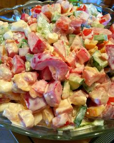 Mayonnaise, Pasta Salad, Potato Salad, Food And Drink, Lunch, Ethnic Recipes, Cooking, Kitchen, Diet