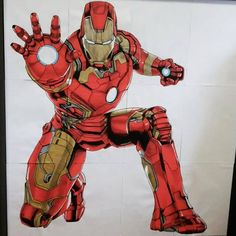 Avril 2018 Y'avait des feuilles de brouillon qui trainaient... 😊 #posca #draw #ironman #dessin Iron Man, Posca, Avril, Deadpool, Superhero, Fictional Characters, Leaves, Drawing Drawing, Iron Men