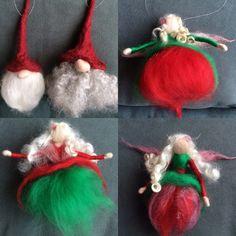 Christmas fairies and gnome