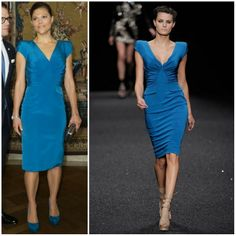 Crown Princess Victoria in Elie Saab