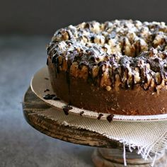 Chocolate Chip Crumb Cake by Anita Schecter