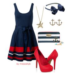 """""""Nautical!"""" by misscaityb on Polyvore"""