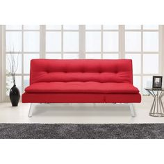 Matrix Convertible Sofa by Serta / Lifestyle Solutions Futon Couch, Convertible, Lifestyle, Furniture, Home Decor, Infinity Dress, Decoration Home, Room Decor, Home Furnishings