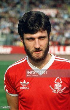circa 1980 Gary Birtles Nottingham Forest portrait