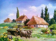 Село. 2010.  Олена Азарова. Україна.