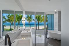 Inspired Baths, North Tower, Fort Lauderdale Beach, Ocean Views, Condos For Sale, Living Spaces, Photo And Video, Luxury, Interior