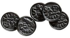 "(Fazer) ammonium chloride/liquorice candy ""merkkari/pirate coin"" The best candy ever ♥♥♥♥♥"