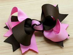 How to make a two tone spike bow