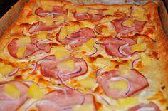 Spicy Tropical Hawaiian Pizza