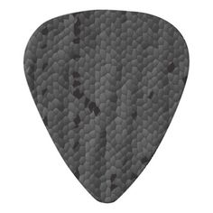 Black Mamba in illustratedArt Prints Guitar Pick - black gifts unique cool diy customize personalize